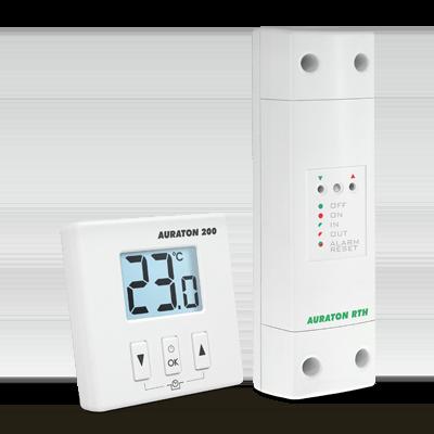 Bezprzewodowy termostat natynkowy