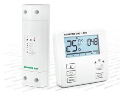 Bezprzewodowy termostat elektroniczny FULL LCD. Regulacja ręczna + programowanie. POLECAMY !