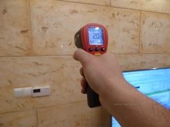 Test jakości, wydajności i pomiar rozkładu temperatur. Panele grzewcze, hybrydowe, ogrzewanie podłogowe.